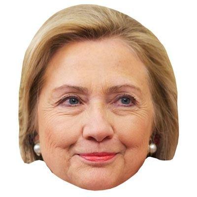 Hillary Clinton Maske aus (Für Hillary Erwachsene Maske)