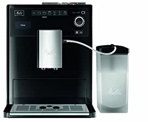Melitta E 970-103 Kaffeevollautomat Caffeo CI, 15 bar, One-Touch-Funktion, LCD-Display, Milchbehälter, schwarz