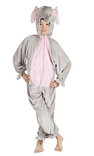 Boland 88215 Kinderkostüm Elefant aus Plüsch, (Kinder Elefanten Kostüme)
