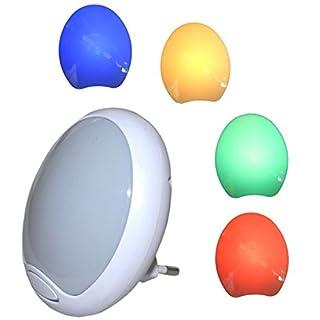 LED Nachtlampe für Steckdose mit Farbwechsel