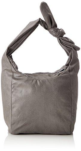 ESPRIT Damen 127ca1o001 Baguette, Grau (Grey), 20x21,5x25,5 cm