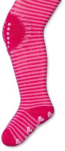 Twins Baby - Mädchen ABS Krabbelstrumpfhose, 2-fach beschichtet, Gr. 74, Rosa (pink 230) -