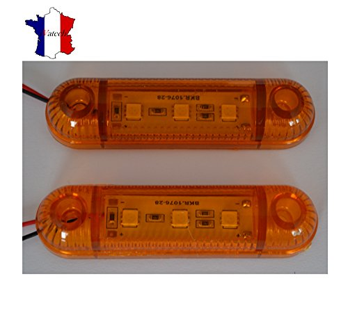 2-x-24v-orange-3-smd-led-feux-de-gabarit-camion-shassis-remorques-van-bus-caravan-pour-iveco-daf-man