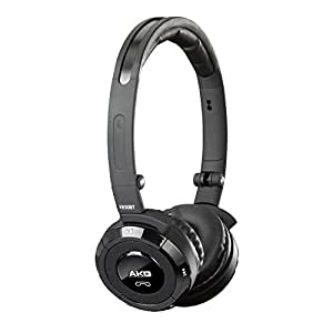 AKG K830 High-End Wireless Headset with Bluetooth Technology and Directional Microphone - Black