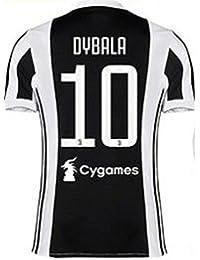 Nuevo Conjunto Equipacion Camiseta Jersey Futbol Juventus 2017-2018 Dybala 10 Replica Autorizado (6 años)