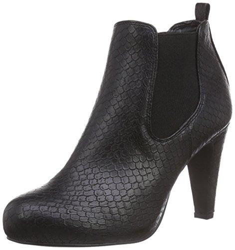 la-strada-schwarze-kroko-look-stiefeletten-damen-kurzschaft-stiefel-schwarz-1501-croco-snake-black-3