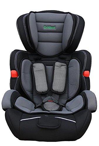 Orident Kindersitz Autositz Kinder 9-36 Kg neu ECE 44-04 Auto Grau/Blau/Pink/Rot/Lila (Grau)