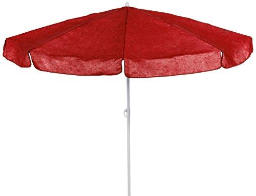 beo MM05 Sonnenschirm 180cm - Sombrilla para patio, color rojo