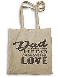 Papá - El Primer Héroe De Un Hijo bolso de mano j571r