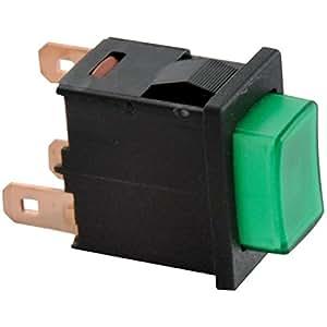 Baxi - Bouton poussoir l4 n/vert - : S15804542