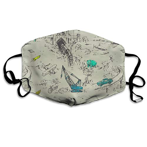 Adventure Toile Anti Dust Mask Anti Pollution Washable Reusable Mouth Masks