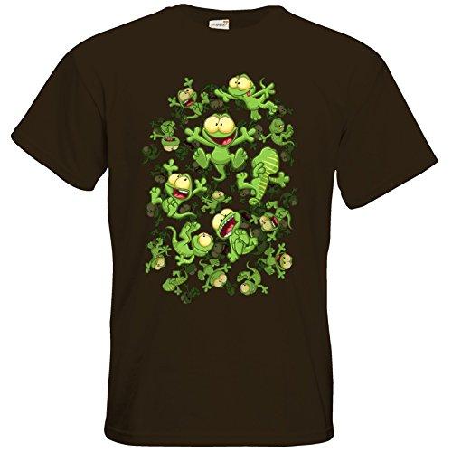 getshirts - Gronkh Official Merchandising - T-Shirt - Lurchregen Chocolate
