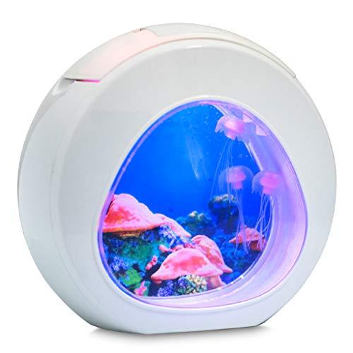 LED Electronic Jellyfish Aquarium Night Light, Luce dell'acquario Decorcuutiy Decompressione Strano è Il miglior Regalo per i Genitori e Gli Amici Regalo di Natale di Compleanno