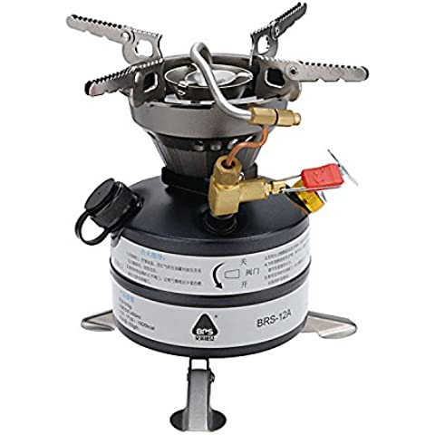 BRS gasolina estufa cocina estufa Camping estufa portátil y ligero