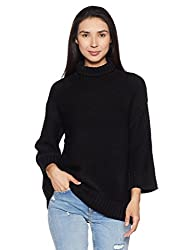 Forever 21 Womens Synthetic Pullover (00174632032_0017463203_Black_2)