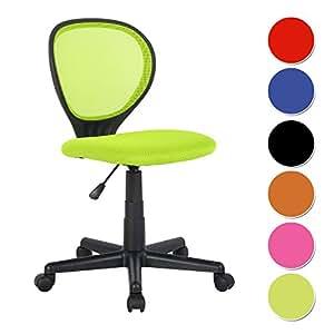 Chaise de bureau vert h 2408f 2 2125 cuisine - Amazon chaise de bureau ...