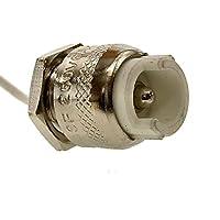 LightED - Attacco R7S con cavo di Teflon, lunghezza di circa 40cm