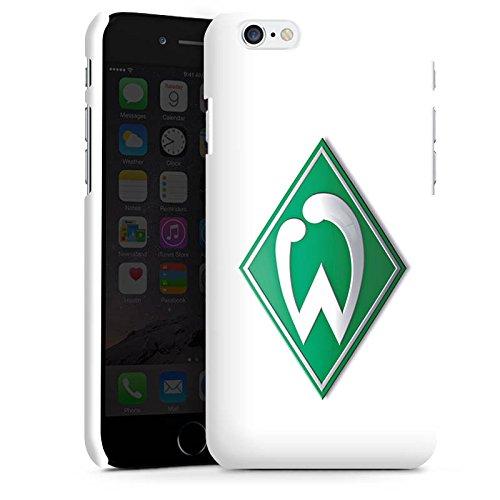Apple iPhone 6s Silikon Hülle Case Schutzhülle Werder Bremen Fanartikel fußball Premium Case matt