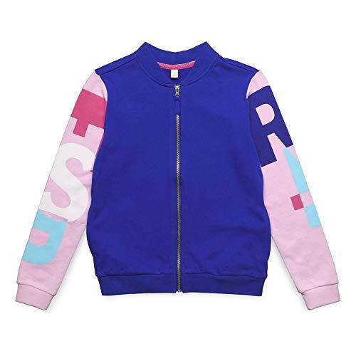 ESPRIT KIDS Mädchen Cardigan Sweatshirt, per Pack Blau (Jewel 426), 152 (Herstellergröße: M)