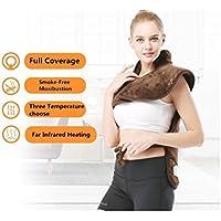 Preisvergleich für edahbjnest5mk Stretch Rücken Schulter Schulter Schutz Taille Und Taille Schulter Hot Warme Kleidung Herkunft Elektrische Heizung Physiotherapie Kleidung