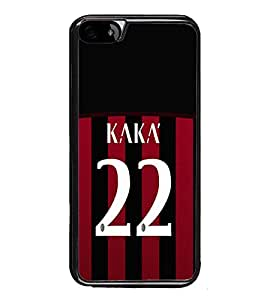 PrintVisa Designer Back Case Cover for Apple iPhone 6 (Jersy Kaka 22 Sports Football Player)