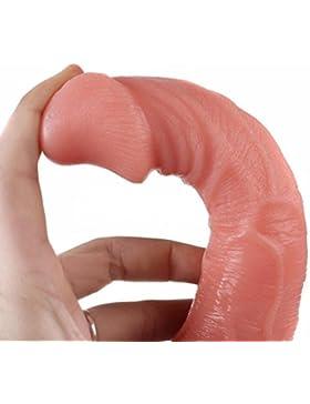 Fossrn Vibradores para Mujer Punto g Consolador de Silicona Dildo Pene Cock Dong Masajeador