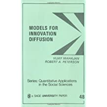 MAHAJAN: MODELS FOR INNOVATION DIFFUSION (P) (PAPER): Quantitative Applications in the Social Sciences