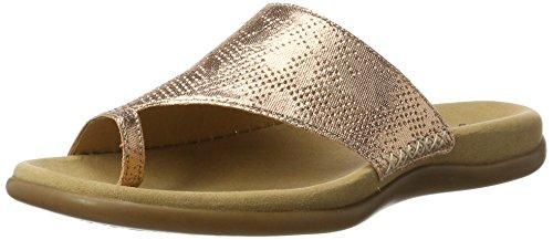 Gabor Shoes Fashion, Ciabatte Donna Arancione (lachs 65)