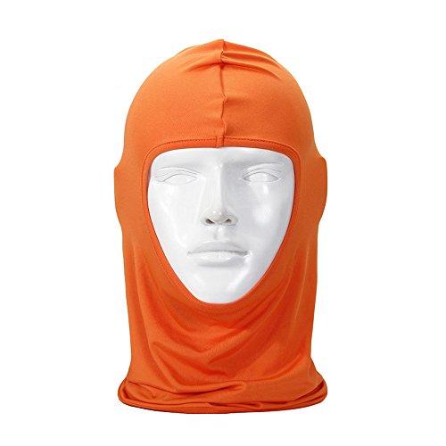 Passamontagna Unisex-Attrezzature Sportive Antivento Antipolvere Sottocasco Balaclava Regolabile Maschera Facciale per Equitazione,A
