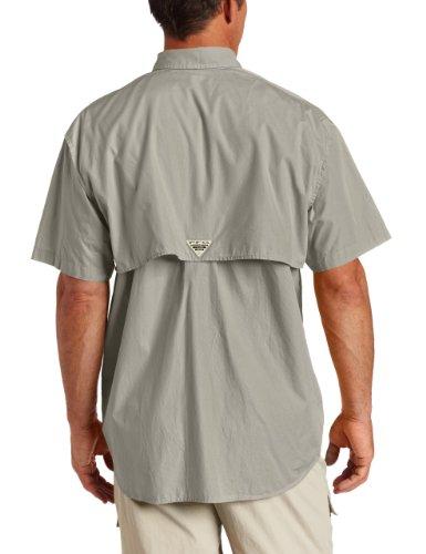 Columbia-Camicia a maniche corte, Bonehead grigio - Fossil/Stone