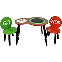 Sky Furniture Childrens Racing Car Table & Chairs for Kids