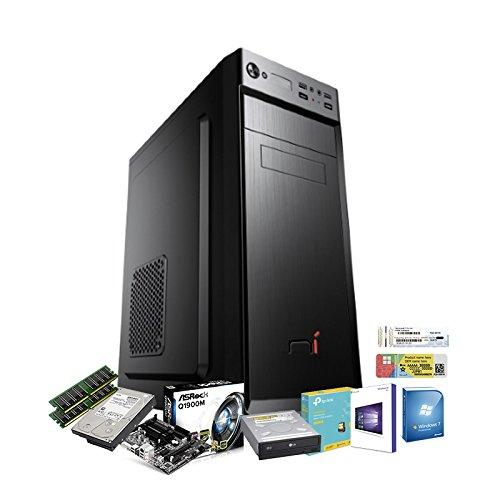 PC DESKTOP RAM 16 GB QUAD CORE CON LICENZA WINDOWS 10 pro oppure Windows 7 pro Talloncino con seriale vostra scelta INTEL QUAD CORE RAM 16 GB HD1TB