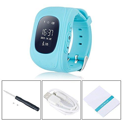 juneo TKSTAR Childrens Smartwatch GPS Rastreador NIÑOS reloj de pulse