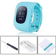 juneo TKSTAR Childrens Smartwatch GPS Rastreador NIÑOS reloj de pulsera teléfono SIM anti-lost SOS pulsera Parent control por iPhone iOS Android Smartphone