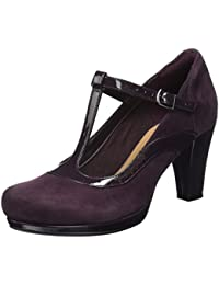 Clarks Women's Chorus Pitch T-Bar Pumps