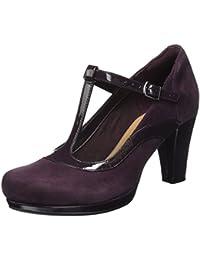 Clarks Chorus Pitch, Zapatos de Tacón para Mujer