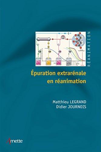 Lire un Epuration extrarénale en réanimation pdf, epub
