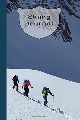 Skiing Journal: The ideal journaling notebook for keeping track of all your snow adventures and ski activities - Ski slopes