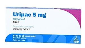 Uripac 20 mg et 5 mg