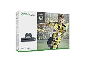 Xbox One S 500 GB Storm Grey + FIFA 17 [Bundle Limited Esclusiva Amazon]