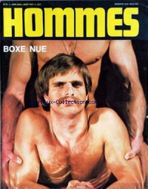 HOMMES [No 31] du 01/06/1977 - BOXE NUE. par Collectif