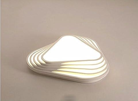 LighSCH Lampes de Plafond La Géométrie moderne Accueil Chambre à coucher enfants Led romantique lampe 30W Lampe Restaurant White Box 53*11cm