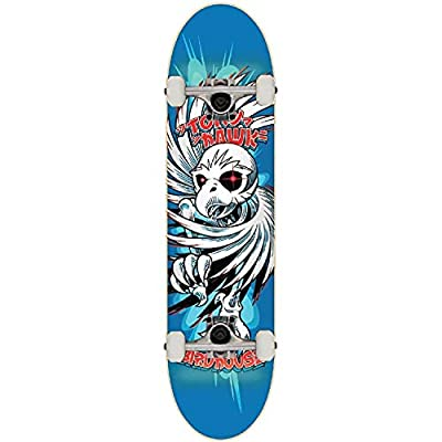 Birdhouse Skateboard Komplett Hawk Spiral - 7.75 Inch Blau (One Size , Blau)