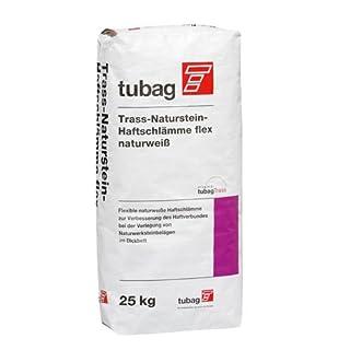 tubag Trass-Naturstein-Haftschlämme TNH-flex naturweiß 25 kg/ Sack