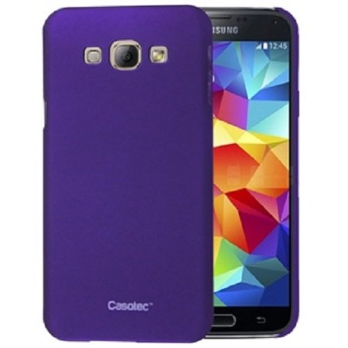 Casotec Ultra Slim Hard Shell Back Case Cover for Samsung Galaxy A8 - Purple  available at amazon for Rs.179