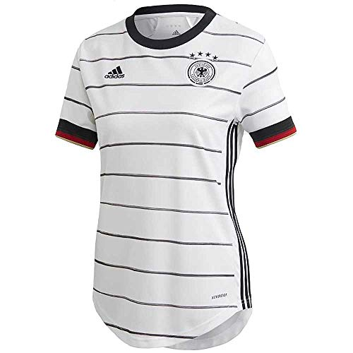 adidas Damen DFB H JSY W T-Shirt, White, M