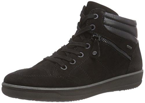 ara Miami Gore Tex Damen Hohe Sneakers Schwarz (schwarz -01)