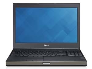 """DELL M4800 Ordinateur Portable 15.6 """" 256 Go NVIDIA Quadro K2100M Windows 7 Professional Noir, Gris"""