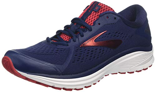 Brooks Aduro 6, Scarpe da Running Uomo, Blu (Navy/Cherry/White 416), 41 EU