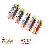 iColor Alternative Patronen: Tintenpatrone ColorPack CANON (ersetzt PGI-550 BK/CLI-551 BK/C/M/Y) (Multipacks kompatible Druckerpatronen für Tintenstrahldrucker, Canon)